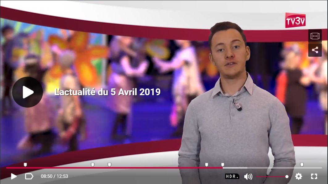 reportage télévision xavière l aventurière spectacle Niederbronn