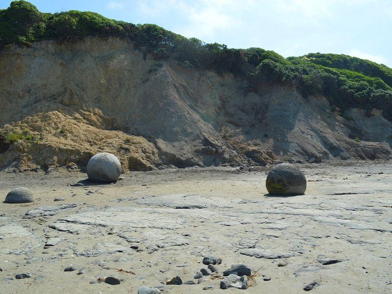 Moreaki_Boulders_Xaviere_l_Aventuriere_Nouvelle_Zelande_6