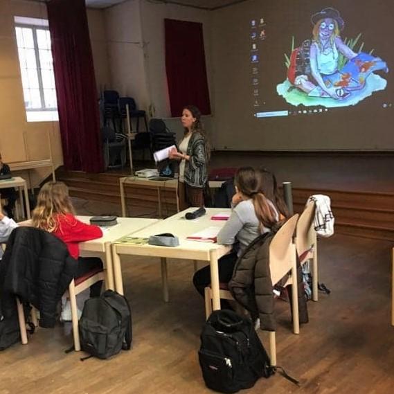Intervention professionnelle en école par Marie Bernard