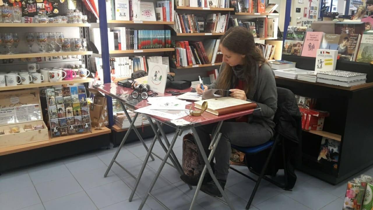 Intervention professionnelle en médiathèque par Marie Bernard