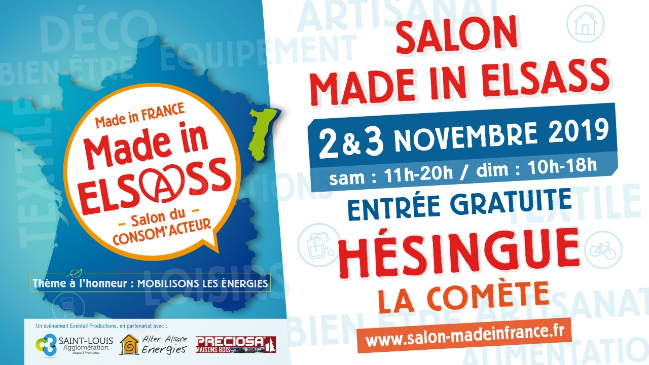 Salon Made in Elsass Hésingue 2019 Xavière l'Aventurière