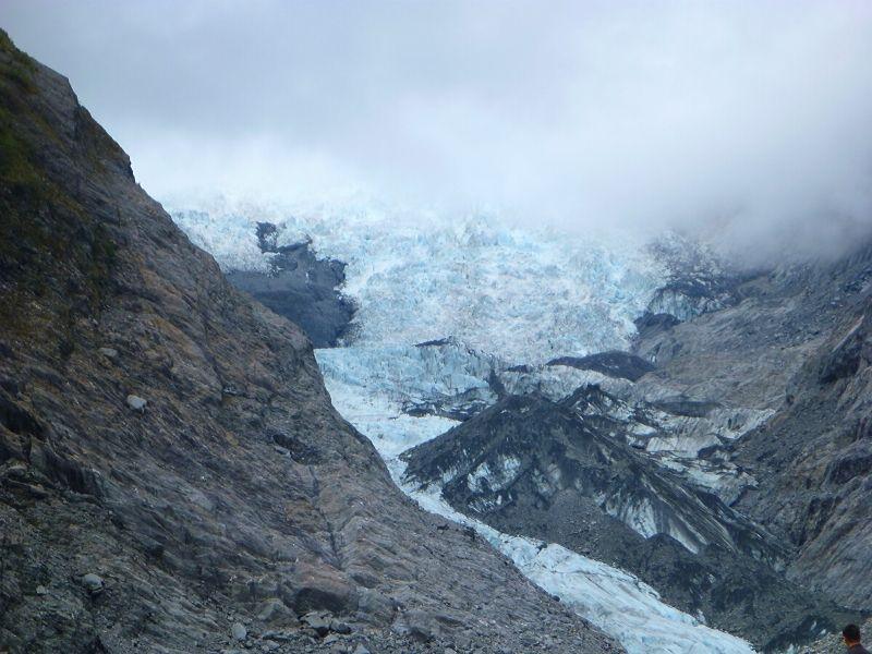 Franz Josef Xavière l'Aventurière glacier