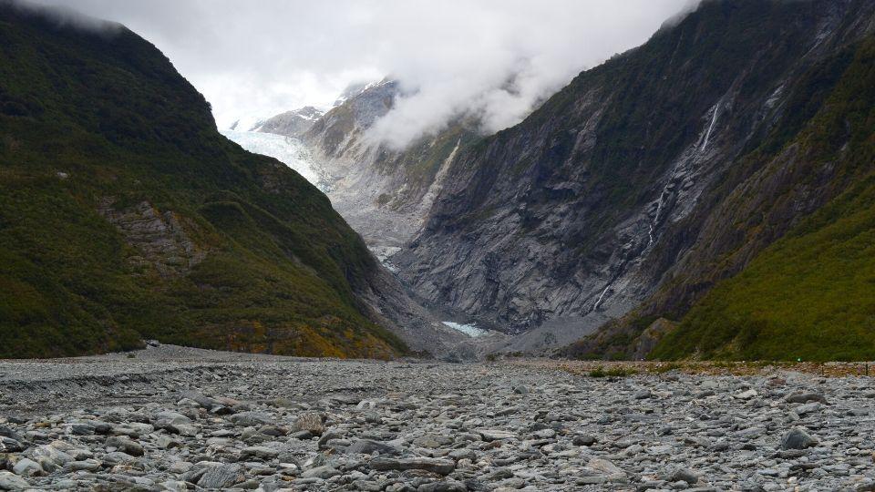 Glacier Franz Josef Xavière l'Aventurière