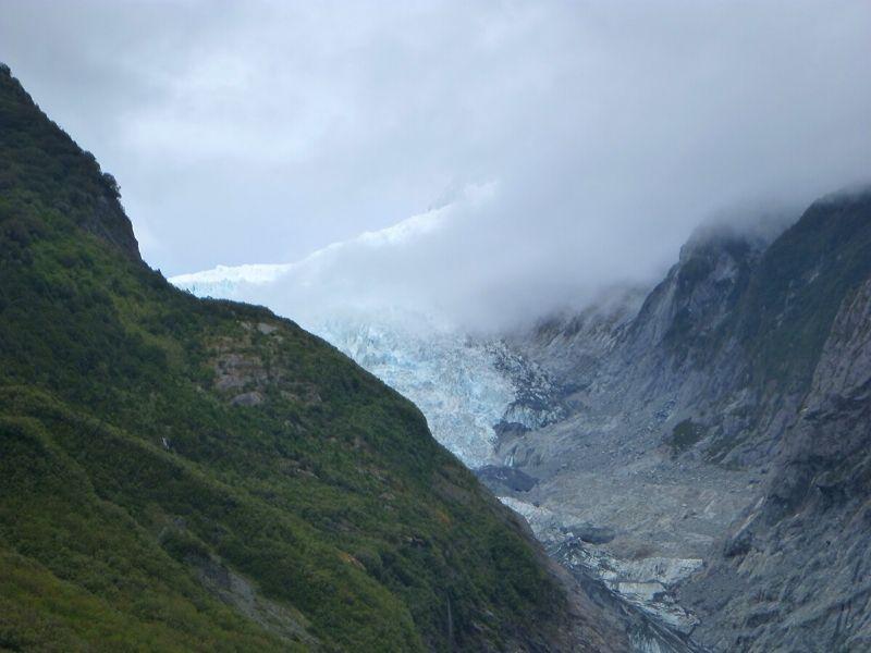 Franz Josef Xavière l'Aventurière glace bleue