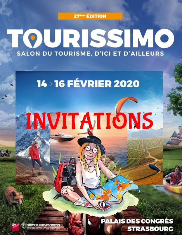 Tourissimo invitations Xavière l'Aventurière