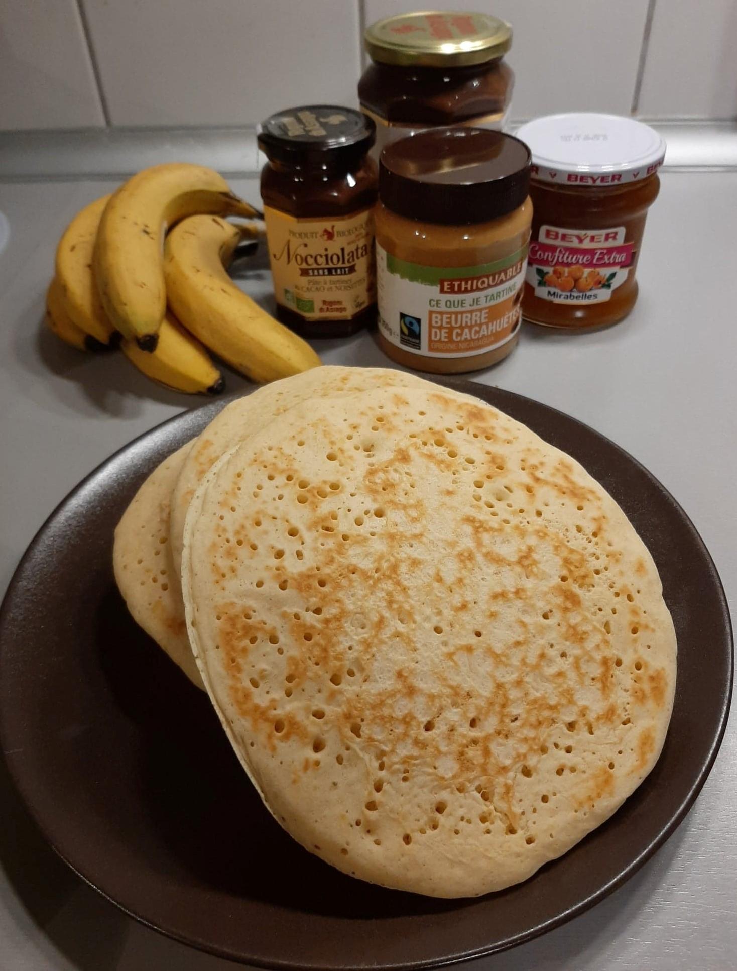 Recette pancakes Xavière l'Aventurière brunch
