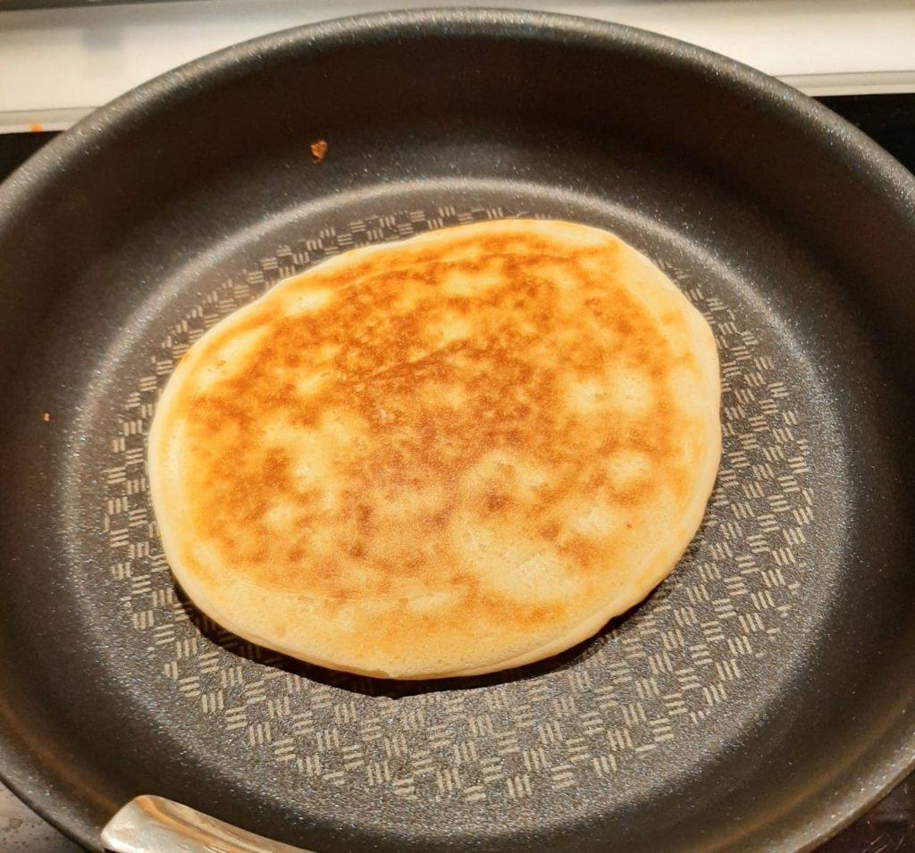 Recette pancakes Xavière l'Aventurière cuisson dorée