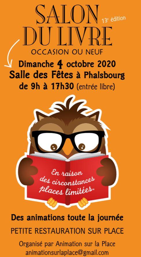 Salon du livre Phalsbourg 2020 Xavière l'Aventurière
