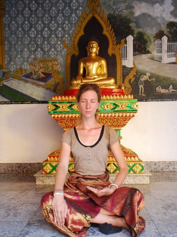 Et si on méditait Xavière l'Aventurière méditation temple